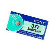 Sony 377  1.55V Silver Oxide 0%Hg Mercury Free Watch Battery