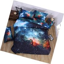 3d Mysterious Boundless Galaxy Twinkling Stars KissLife