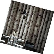 Blooming Wall:3d Birch Tree Wall Mural Wallpaper,20.8 In32.8