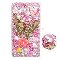 Spritech 3D Handmade Bling Pink Diamond Design Case Luxury