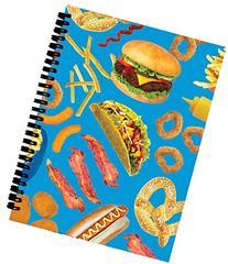 iscream 'Junk Food' 3D Spiral-Bound Journal