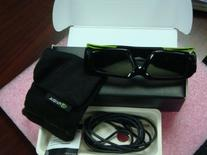 nVIDIA 3D Vision Stereoscopic Extra Pair 3D Glasses 942-