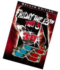 3D Glasses - 3 PAIRS - Original  Friday the 13th Part 3