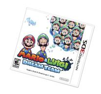 Nintendo 3DS XL, Silver - Mario & Luigi Dream team Limited