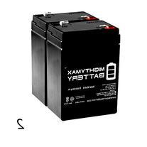 6V 4.5AH Battery for Wildgame Innovations Feeder - 2 Pack -