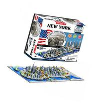 4 Dimensional New York Skyline Puzzle