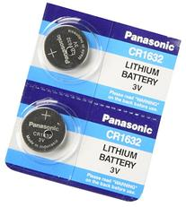 4 Pack - Panasonic Battery - Cr1632 3v 3 Volt Lithium Coin
