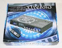 GRAVITY 4 Band Parametric Equalizer with USB/MP3 Player GR-