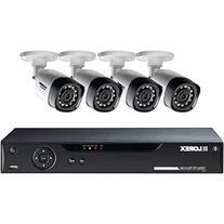 Lorex 8-Channel 4 Bullet Cameras w/ 1TB 1080p HD HDD DVR
