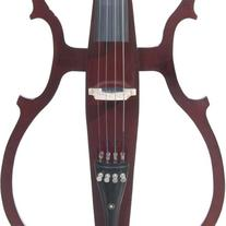 Cecilio 4/4 CECO-1DW Mahogany Metallic Electric Cello with