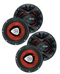 "4) New BOSS CH6520 6.5"" 2-Way 500W Car Coaxial Audio"