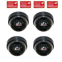 VideoSecu 4 Pack Dummy Fake Security CCTV Dome Cameras with