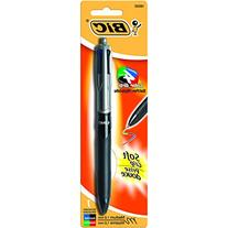 BIC 4-Color Grip Ball Pen, Assorted colors, 1ct