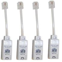 4 Inline Dsl Filters White Box
