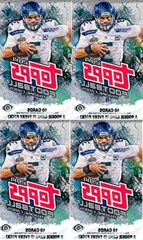 4  Packs - 2014 Topps Football Hobby Packs  - Possible