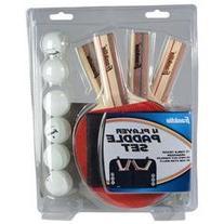 Franklin Sports 4 Player Paddle Set