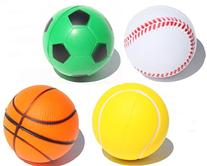4 Sporty Squeeze Ball - Stress Relief Finger Therapy After
