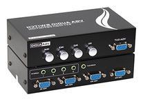 Panlong 4-Port VGA Switch Bi-directional Video Audio