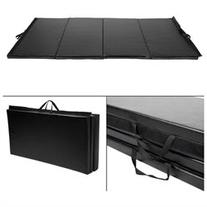 4'x10'x2 Gymnastics Mat Folding Panel Gym Fitness Exercise