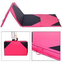 Giantex 4'x10'x2 Thick Folding Panel Gymnastics Mat Gym