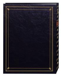Pioneer Photo Albums 3-Ring Bound Black Leatherette Cover