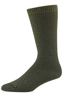 Wigwam Men's 40 Below Heavyweight Boot Socks, Olive, Medium