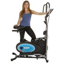 400LS 2 in 1 Air Elliptical and Exercise Bike with Heart
