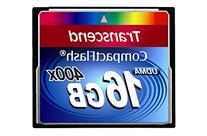 Transcend 16GB CompactFlash Memory Card 400x