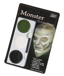 Mehron 403CFR Tri Color Palettes Monster