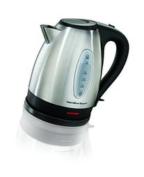 Hamilton Beach 40880 Stainless Steel Electric Kettle, 1.7-