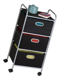 'Honey-Can-Do 41648 Rolling Laundry/Accessory Storage Cart