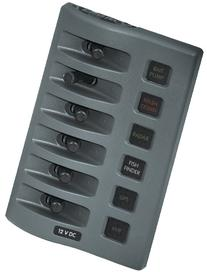 Blue Sea Systems 4306 WeatherDeck Water Resistant Fuse Panel