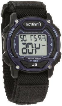 Armitron Sport Unisex 45/7004BLU Sport Watch with Black
