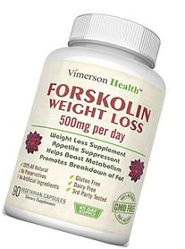 45 DAY SUPPLY - 100% Pure Forskolin Extract for Extreme