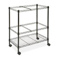 Lorell LLR45650 Mobile Wire File Cart