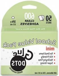 Glue Dots 468588 Glue Dots 3-16 in. Mini Dots School Value