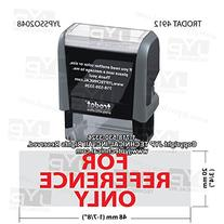 Trodat 4912 Rectangle Stock Self Inking Rubber Stamp With