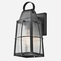 Kichler 49552 Wall Sconces Tolerand Outdoor Lighting; Textured Black