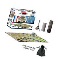 4D Paris Skyline Time Puzzle Includes Storage Bag