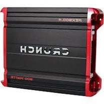 Crunch 4CH Amplifier 900W