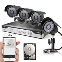 Zmodo 4CH 960H DVR 4x600TVL Day Night Outdoor Indoor CCTV