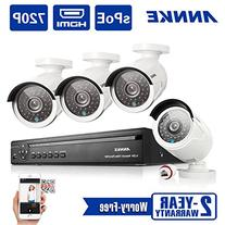 ANNKE 1.3Megapixel 1080P Wireless NVR Security System and
