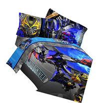 4pc Transformers Twin Bedding Set Optimus Prime Alien