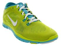 Nike Women's Free 5.0 Tr Fit 4 Volt/Cool Grey/Wolf Grey/