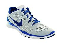 Nike Womens Free 5.0 Tr Fit 5 White/Game Royal Turf Soccer