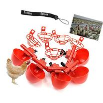 Estone 5/10/20/50 Pack Poultry Water Drinking Cups- Chicken