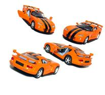 "5"" Die-cast Metal, Dodge Viper GTR-S with Pull Back n Go"