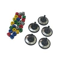 Aqua Plumb RKE Electric Range Knob 5pc, 5 x 3 x 4 inches,