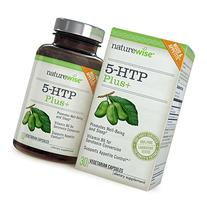 NatureWise 5-HTP 200mg Advanced Time Release, Supports