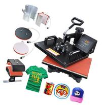5 in 1 Black Heat Press Transfer Sublimination Machine